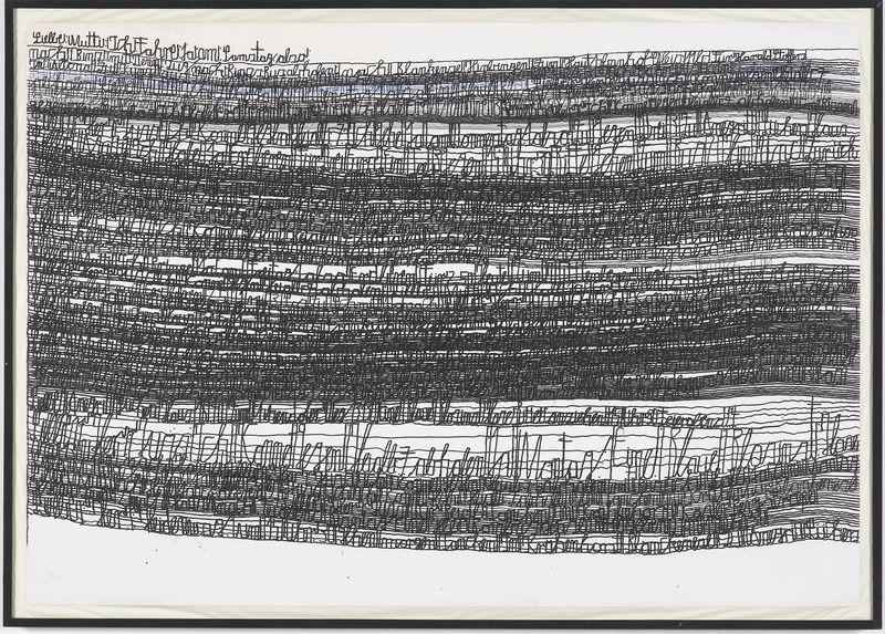 Harold Stoffers_Untitled_2009_ink, waterproof felt pen on paper_ 70x100cm_Galerie der Villa_Germany